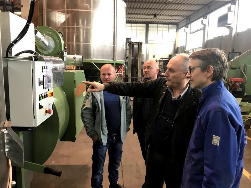 Навчання сервісних інженерів компанії Ерідон Тех в Італії